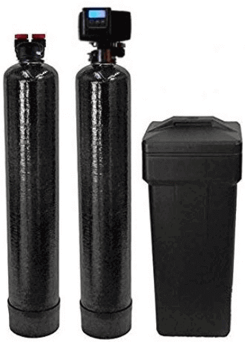 "alt=""ABCwaters 5600sxt Fleck softener and carbon filter best whole house water softener"""