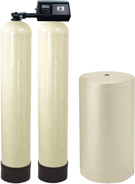 "alt=""AFWFilters WS-96k-91SXT Fleck 9100SXT Dual tank water softener for nonstop soft water"""