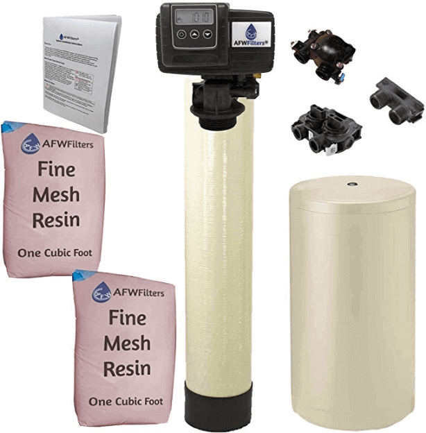 "alt=""Fleck Iron Pro 2 Combination water softener to solve the problem of feeling nauseous after drinking water"""