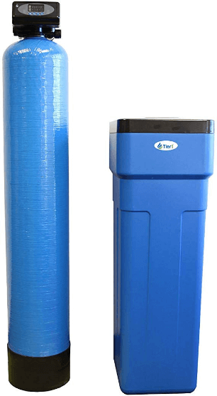 "alt=""Tier1 Everyday Series 48,000 Grain Water Softener for space saving water softener"""