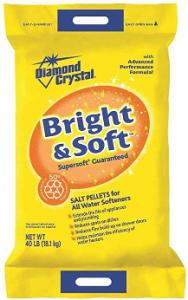 best salt for water softener Diamond Crystal Salt Pellets Bag