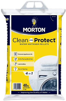 best salt for water softener Morton Clean and Protect II Water Softening Pellets