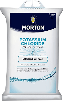 best salt for water softener Morton Potassium Chloride Pellets