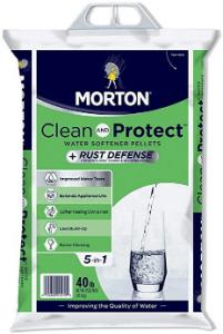 best salt for water softener Morton Salt Morton F124700000g Clean Protect Rust Defense Water Softener Pellets