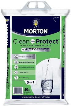 best salt for water softener Morton Salt Morton F124700000g Clean Protect Rust Defense Water Softener Pellets
