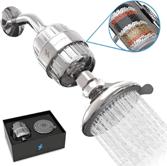 shower heads that remove fluoride and chlorine