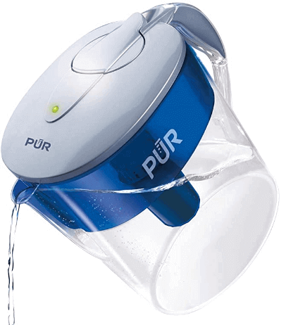 PUR CR1100CV Classic11 cup Water Filter Pitcher Filtration System
