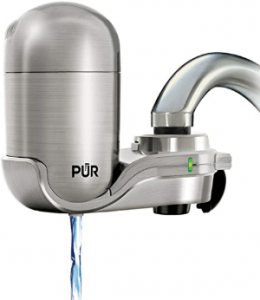 PUR PUR-0A1 Stainless Steel Faucet Mount Water Filtration System