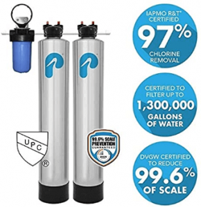 Pelican Whole House Water Filtration and NaturSoft Salt-Free Softener System