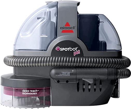 Bissell SpotBot Pet handsfree deep cleaning carpet shampooer